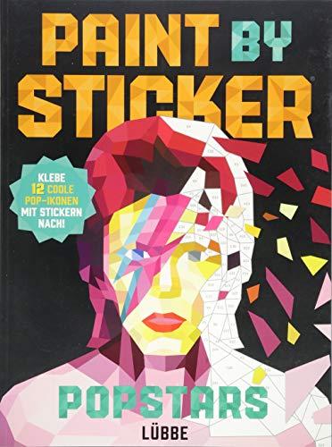 Paint by Sticker Popstars: Klebe 12 coole Pop-Ikonen mit Stickern nach