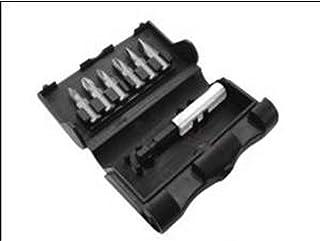 Black+Decker 7 Piece Screwdriver Bit Set in Storage Box for Power Screwdrivers, Orange/Black - X60480-XJ, 2 Years Warranty