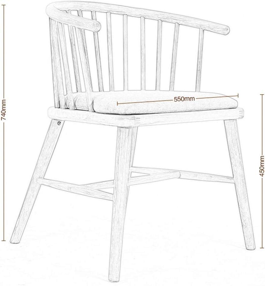 LF Chaise de Salle, Chaise de Bureau Simple, créative Dossier, Chaise Loisirs, Maison Adulte Chaise de Salle Simple (Color : Gray) Gray