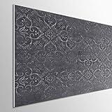 MEGADECOR DECORATE YOUR HOME Cabecero Cama PVC 5mm Decorativo Económico. Modelo - NYBRO (150x60cm, Gris Oscuro)