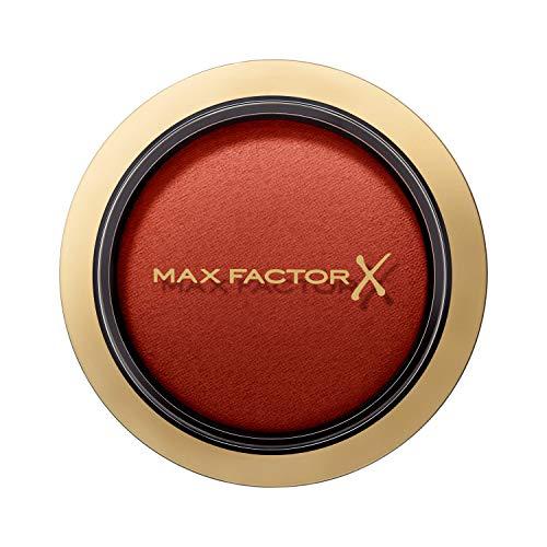 Max Factor Compact Blush Stunning Sienna 55 – Marmoriertes Rouge Für Den Perfekten Glow – Multitonales Puder Blush – Farbe Nude