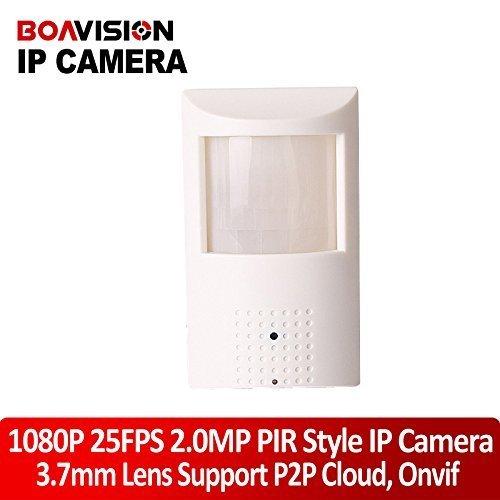PIR Style Motion Detector Hd H.264 1080p Hidden IP Camera 2.0mega Pixel P2p Plug and Play Security Network Cameras