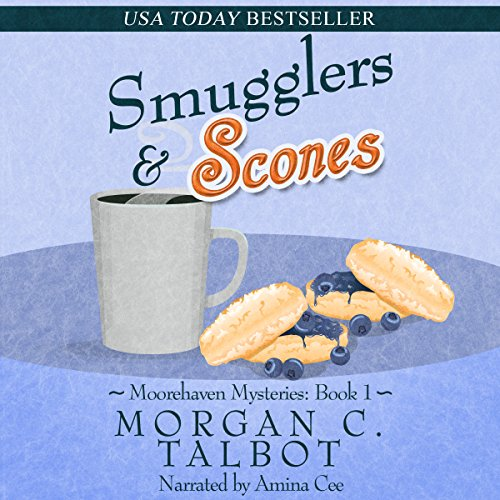 Smugglers & Scones audiobook cover art