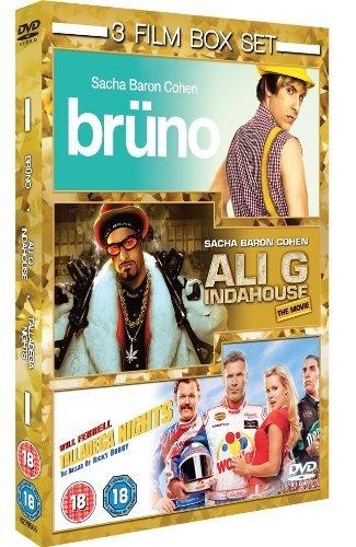 Bruno/Ali G In Da House/Talladega Nights: Uca [Edizione: Regno Unito] [Reino Unido] [DVD]