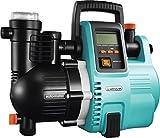 GARDENA Comfort Hauswasserautomat 5000/5E LCD: Hauswasserpumpe mit LC-Display, energiesparend, Fördermenge 5000 l/h, 1300W Motor mit Thermoschutzschalter, Trockenlaufsicherung (1759-20),...