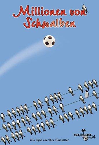 Millionen von Schwalben: Fussball-Karten- und Würfelspiel