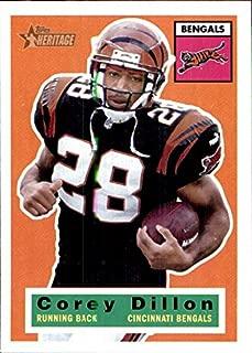 2001 Topps Heritage #51 Corey Dillon CINCINNATI BENGALS WASHINGTON HUSKIES Football Card