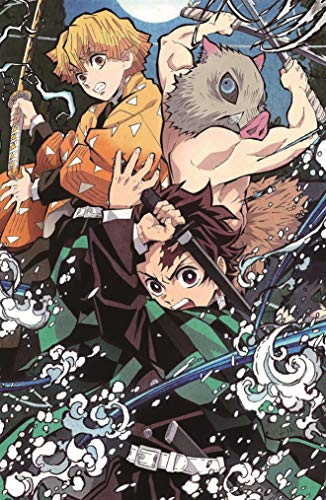 28 x 43 cm, diseño de anime Demon...