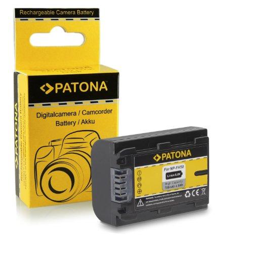 Batería NP-FH50 para Sony CyberShot DSC-HX1 | DSC-HX100V | DSC-HX200V - DSLR...