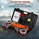 Roscadora de Tubos eléctrica, máquina roscadora de roscadora de Tubos portátil de(European Standard 220V)