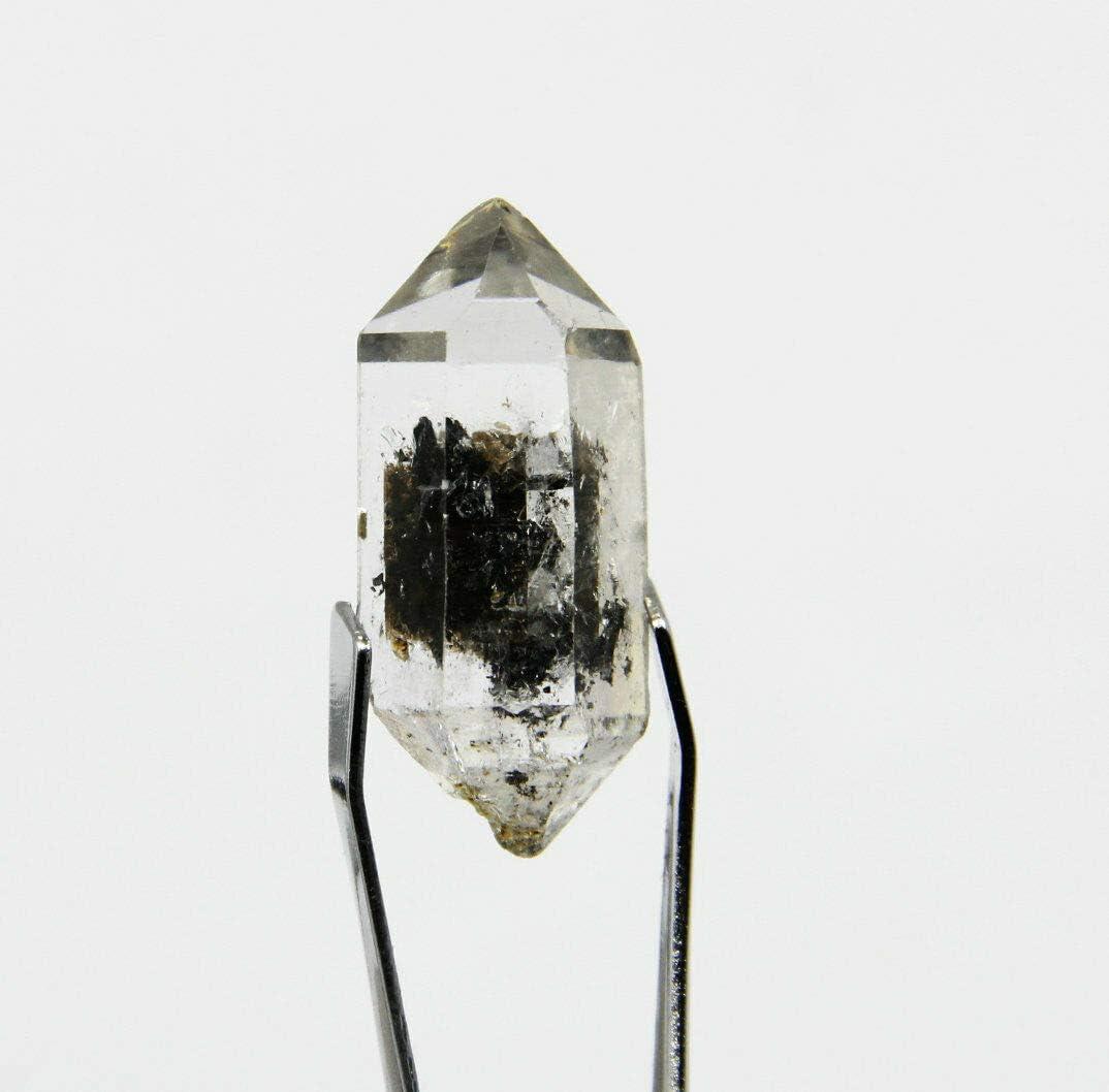 Virginia Beach Mall Beads 21.5Cts Cheap Clear Natural Black Phantom Double Quartz Crystal