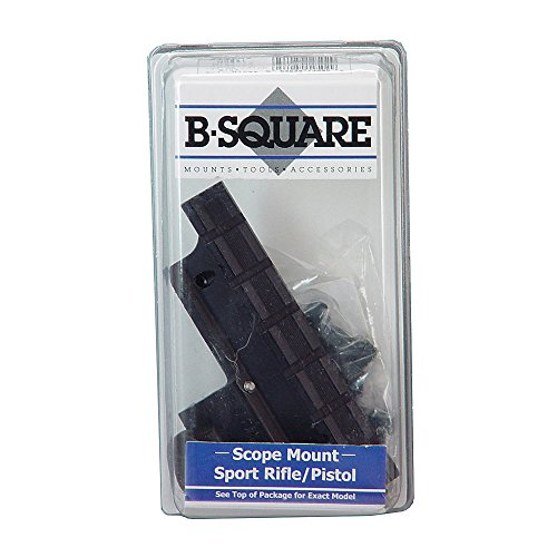 B-Square Ruger Mini-14 Rifle Mount for 181 Series and Later, Matte Black