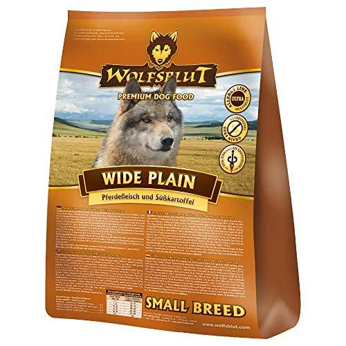 Warnicks Tierfutterservice Wolfsblut Wide Plain SMALL Breed SPARPACK 2x2KG