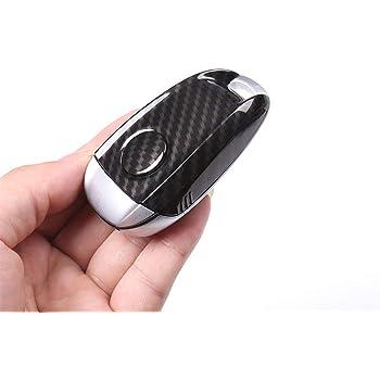 REFURBISHHOUSE Custodia nel Fibra di Carbonio ABS per Custodia Alfa Romeo Giulia Stelvio 17-18 Chiave Un Distanza