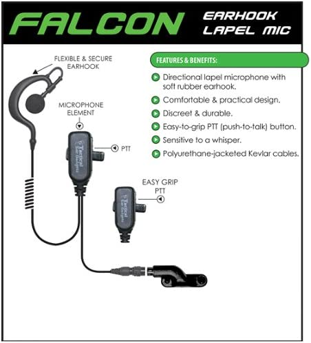 FALCON shipfree Quick Release Headset for Radios free shipping Standard VX Vertex 2-Way