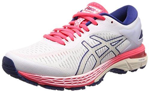 Asics - Gel-Kayano 25 - Zapatillas de running para mujer., Blanco (Blanco/Blanco), 38 EU