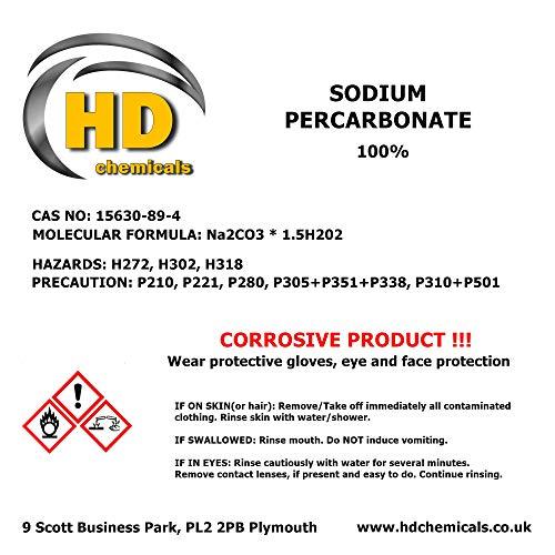 natriumpercarbonat 100% Pure Pure beschichtet Sauerstoff von Bleichen Na2CO3* 1.5h2o, 5g sample, 1