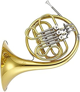 Jupiter Lacquered Brass Body Single French Horn 752L