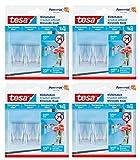 tesa® Klebehaken, transparent für z.B. Glas, 1...