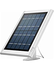 Ring Solar panel White- Compatible with Ring Spotlight Cam Battery and Stick Up Cam Battery