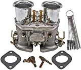 Dokili Carburador con bocina de aire de repuesto para Weber
