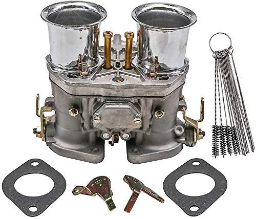 Dokili Carburador con bocina de aire de repuesto para Weber 40 IDF 40 mm BUG Beetle VW Fiat, Prosche Solex Dellorto EMPI 40 mm