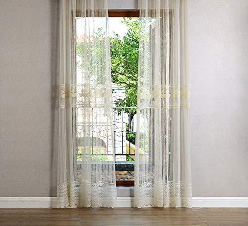 cortinas cortas rusticas