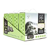 Natural Paw Tofu Cat Litter Lightweight Case of 4, Natural Odor Control Kitty...