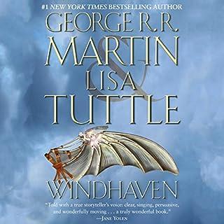 Windhaven audiobook cover art