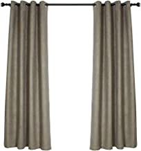 Ombre Room Darkening Curtains for Living Room, 2 Panels, 52x84 inches Length(Without curtain bar) (Grey)