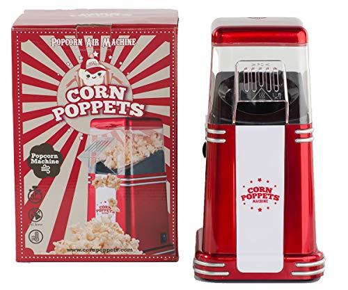 CORN POPPETS | Máquina de Palomitas de Maiz | Palomitero Sin Aceite, Sin Humos