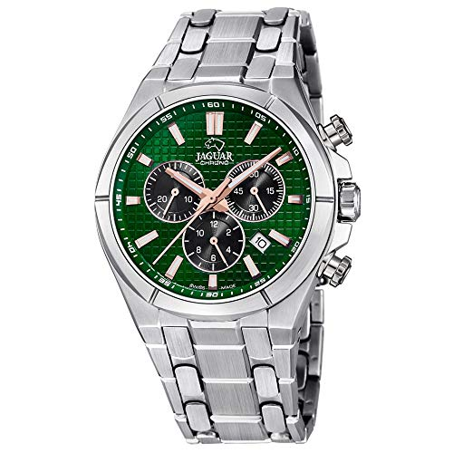 JAGUAR Herren Uhr Sport J695/3 Edelstahl Armbanduhr Executive Silber UJ695/3