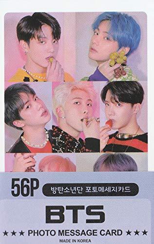 K-POP Group 2020 New Photo Message Card 56pcs set (Postcard / 56sheets) (BTS)