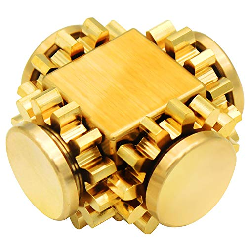 VVXXMO Mini Fidget Toys Hand Spinner Finger Spielzeug,Gear Metalllegierung Spinner Stressabbau Fidget Toy F/ür Kinder Und Erwachsene Spielzeug Geschenke