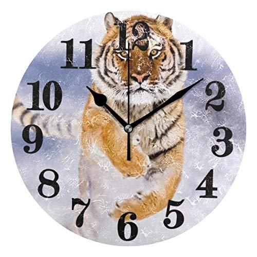 Relojes de pulsera de cuarzo con pilas antiguas con forma de tigre, simpáticos y simpáticos clásicos