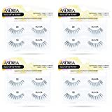 Andrea Two of a Kind False Lashes #53 Black, 4 Pack