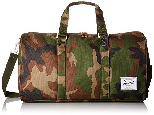 Herschel Novel Duffel Bag, Woodland Camo/Multi Zip, Classic 42.5L