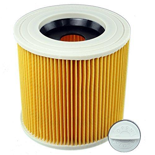 Spares2go Cartridge Filter Voor Karcher A2004 A2251ME A2254ME Handyman Nat & Droog Stofzuiger