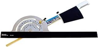 シンワ測定(Shinwa Sokutei) 丸ノコカッター定規 フリーアングル マルチ (アルミガイド 30cm 付き) 78232