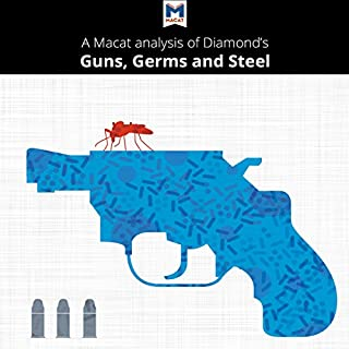 Couverture de A Macat Analysis of Jared Diamond's Guns, Germs, and Steel