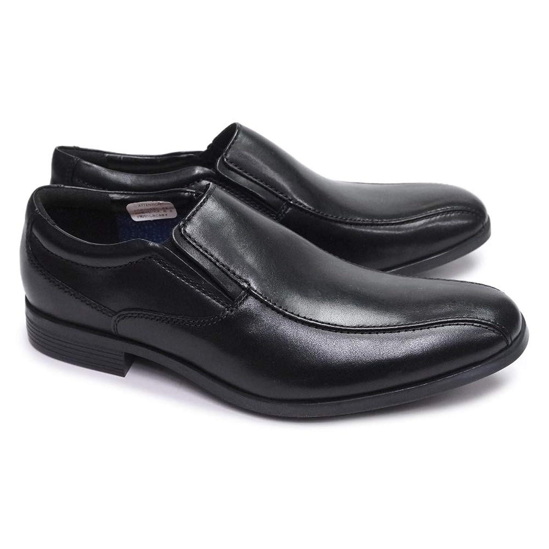 [クラークス] 靴 スリッポン メンズ 075J コンウェルステップ 本革 ビジネスシューズ スワールモカ レザー Conwell Step