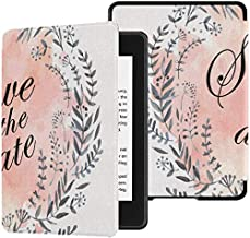 Kindle Paperwhite 10th Case Happy Save The Date Love Wreath Cases Kindle Paperwhite 10th Generation Case with Auto Wake/Sleep Kindle Paperwhite Protective Case 10th Generation 2018