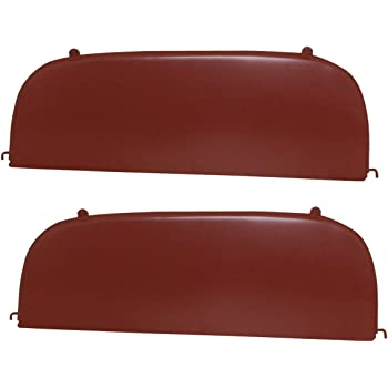 KNS Accessories KC0001 1941-48 Chevrolet Outside Mount Metal Fender Skirts W//Strip Moldings