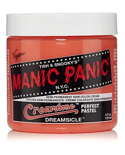 Manic Panic - Dreamsicle Pastel Classic Creme Vegan Cruelty Free Orange Semi Permanent Hair Dye 118ml