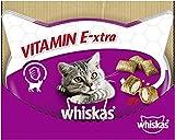 Whiskas VITAMIN E-XTRA – Köstliche Katzensnacks für Katzen – Kalorienarme