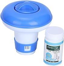 Ruiqas Dispensador Automático de Productos Químicos para Piscinas Dispensador de Productos Químicos para Tabletas de Cloro Flotante Accesorios para Piscinas Limpiador de Piscinas