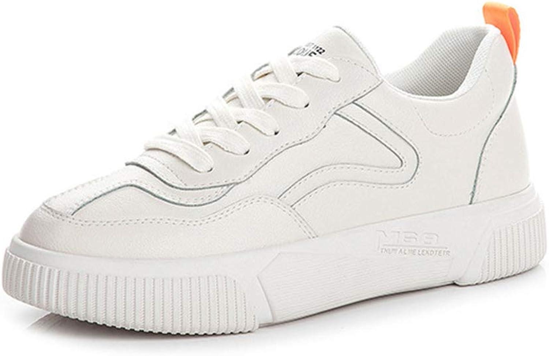 YAN Damenschuhe Frühlingshächerplattform Schuhe Shallow Mouth Deck Schuhe Spitze bis Sportschuhe Athletic Schuhe Trainings-Schuhe,Beige,40  | New Listing