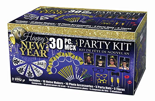 Why Should You Buy PMU New Year's Eve Party Kit Assortment for 10 (1/Pkg) Pkg/10