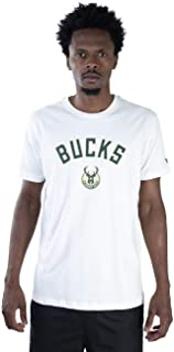 CAMISETA NBA MILWAUKEE BUCKS ESSENTIALS TEAM OFF WHITE OFF WHITE NEW ERA