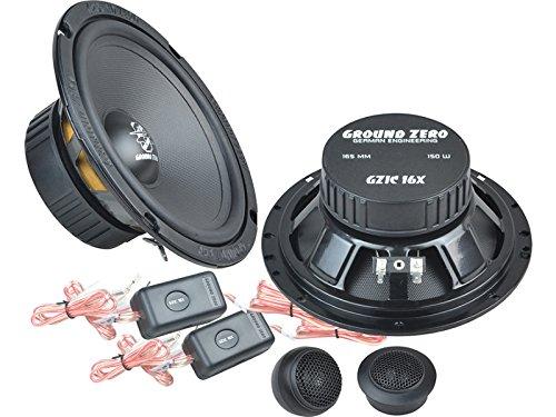 Ground Zero Iridium Lautsprecher Kompo-System 300 Watt Mercedes C Klasse W203, S203, CL203 00-08 Einbauort vorne : Türen/hinten : -
